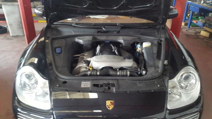 Motor v8 turbo transformado GLP