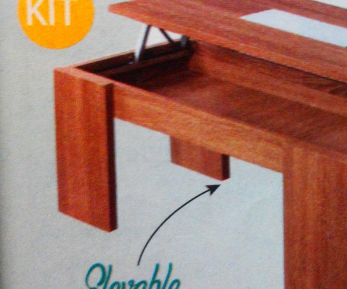 mesa centro mod.65: Productos  de Muebles Llueca, S. L.
