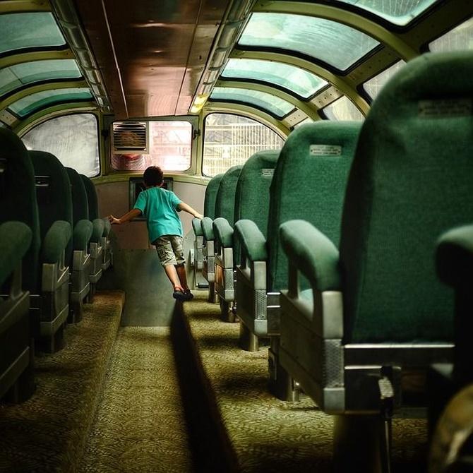 Al viaje de fin de curso en autobús