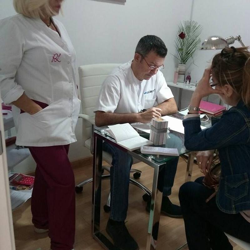 Eliminación de manchas: Servicios de Centro médico Paqui López