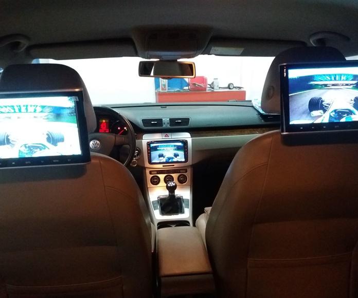 Pantallas mutimedia: Servicios de Media Car