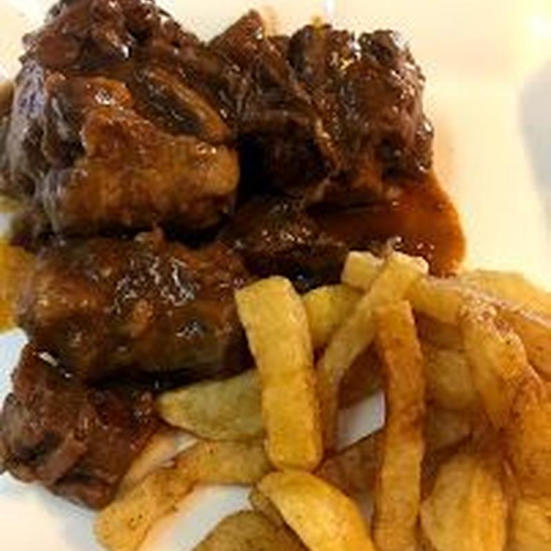 Carnes: Carta de Restaurante Doyma