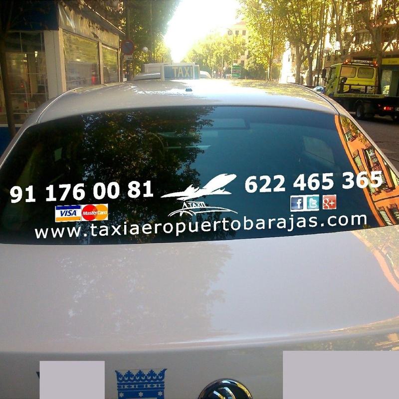 Radio Taxi Madrid Aeropuerto.