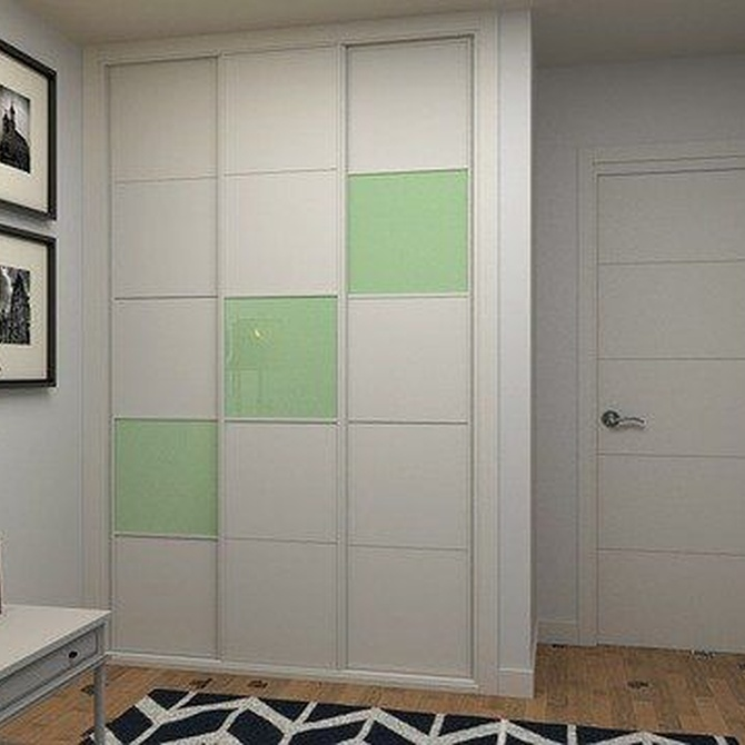 Elige las puertas de los armarios según tu decoración