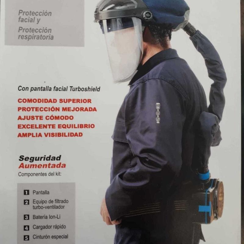 Equipo respiración individual Salamanca