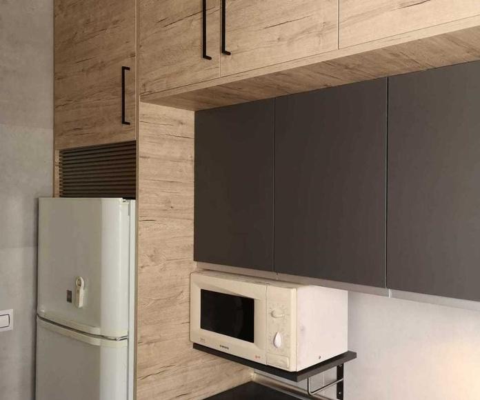 PROYECTO REALIZADO EN PUERTA DEL ÁNGEL- MADRID : PROYECTOS REALIZADOS de Diseño Cocinas MC