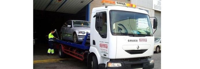 Grúas para Vehículos: Servicios de Talleres y Grúas Ferma