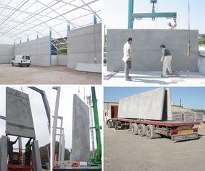 Instalación de prefabricados de hormigón en Asturias