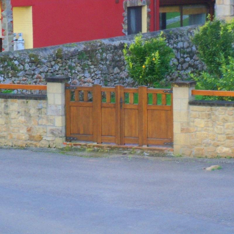 Portillas y Portones: Trabajos de Carpintería Antonio Pereda