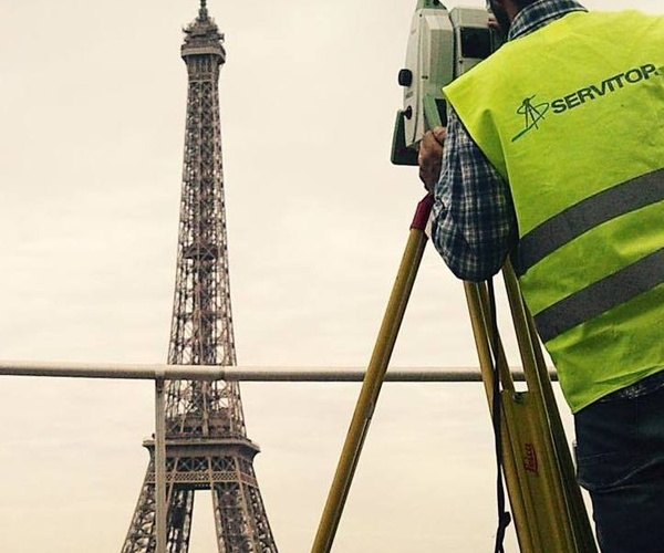 SERVITOP - Trabajos de Topografía en París, Francia (2015)