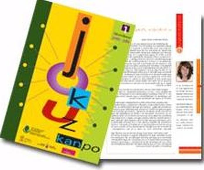 Revista: INFORMACIÓN de Asoc. Alavesa de Jugadores en Rehabilitación