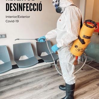 Limpieza y desinfección en áreas comunes debido al COVID-19