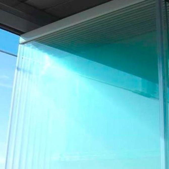 Las cortinas de cristal