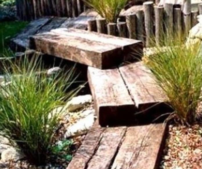 Traviesas de madera varias medidas: NUESTROS PRODUCTOS de Mofusa