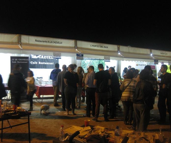 Cola en nuestro stand de Fira Tapa... ¡¡¡triunfando!!!