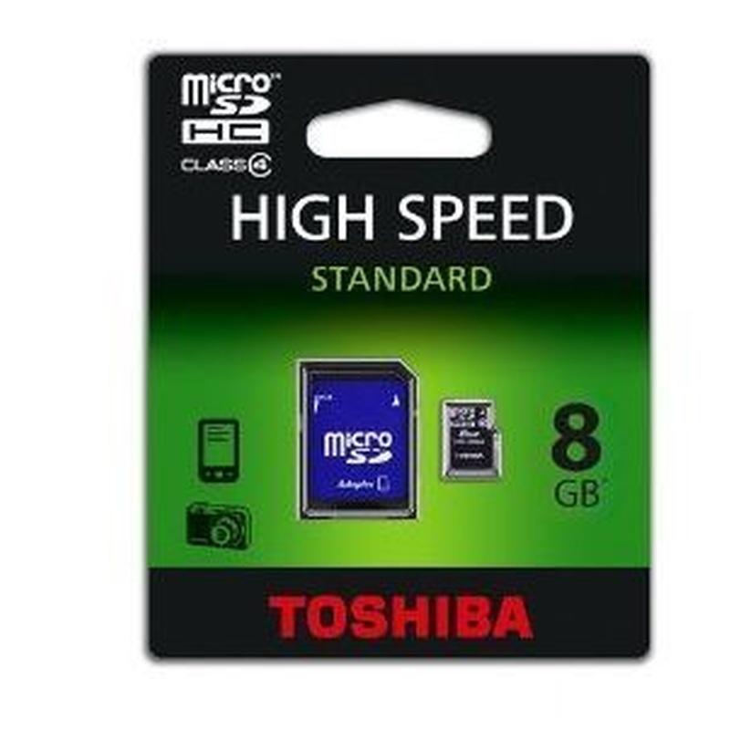 Toshiba Tarjeta Micro SDHC 8GB + Adaptador SD: Catálogo de Retóner Ecológico, S.C.