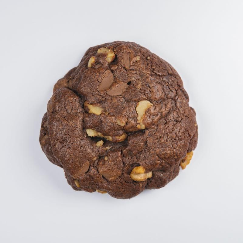 Galleta doble de chocolate con nueces: Nuestras Galletas de Galletanas Granada