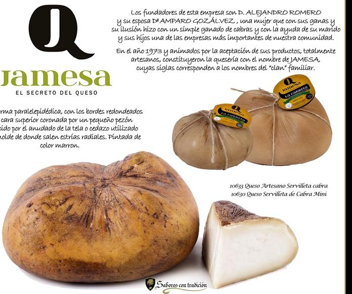 "Quesos "" Servilleta Queserias Romero "": Productos de Sabores con tradición"