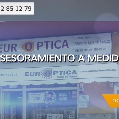 Oferta de lentes progresivas en Guía de Isora | Europtica Guía de Isora