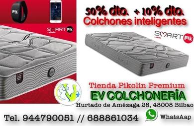 COLCHONES SMARTPIK DE PIKOLIN 50%DTO Y REGALO DE PULSERA SMART