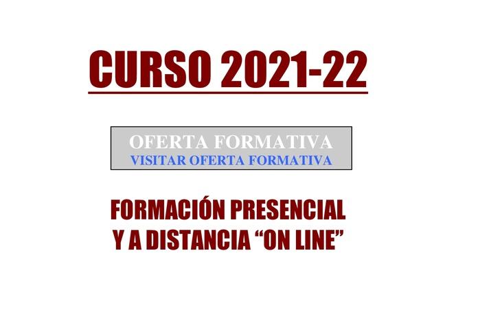 OFERTA FORMATIVA CURSO 2021-22: OFERTA FORMATIVA de Academia Darwin