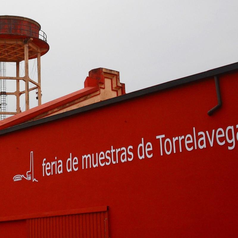 Feria de muestras de Torrelavega. Reconstrucción de estructura de hormigón.