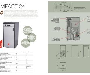 Caldera pellet Red Modelo Compact24
