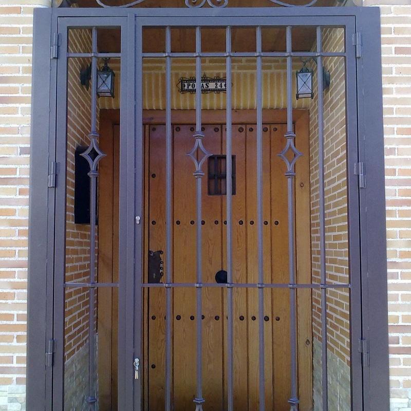 Cancela de puerta exterior Toledo