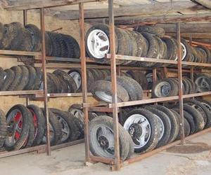 Desguace, ruedas