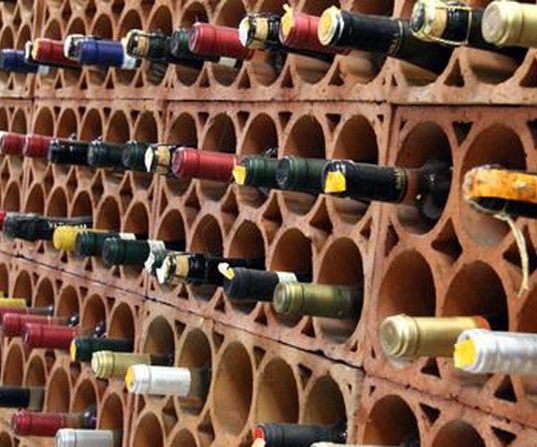Una cuidada selección de vinos