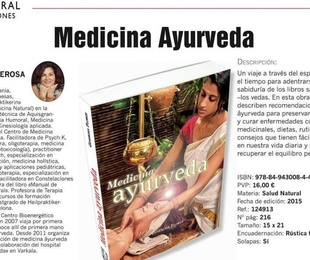 Libro Medicina Ayurveda Autora: Genorosa Flores