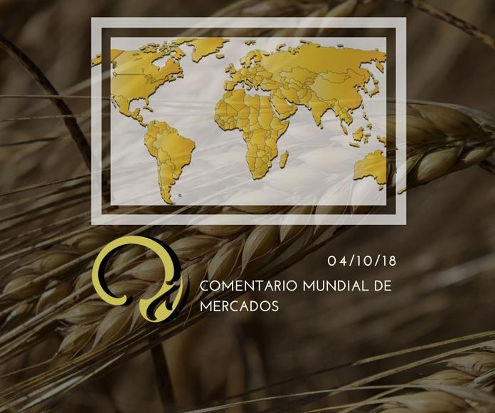 Informe internacional de mercados 04.10.18