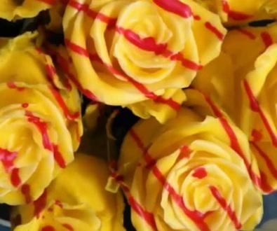 Rosa roja de San Jordi