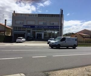 Concesionario de automóviles hyundai