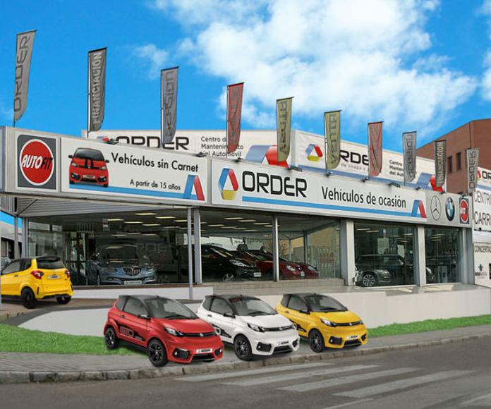 Order Automoción colaborador Gesercar Alcobendas!!!