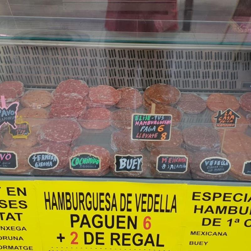 Hamburguesas: Carnicería de Cárnicas Maestros