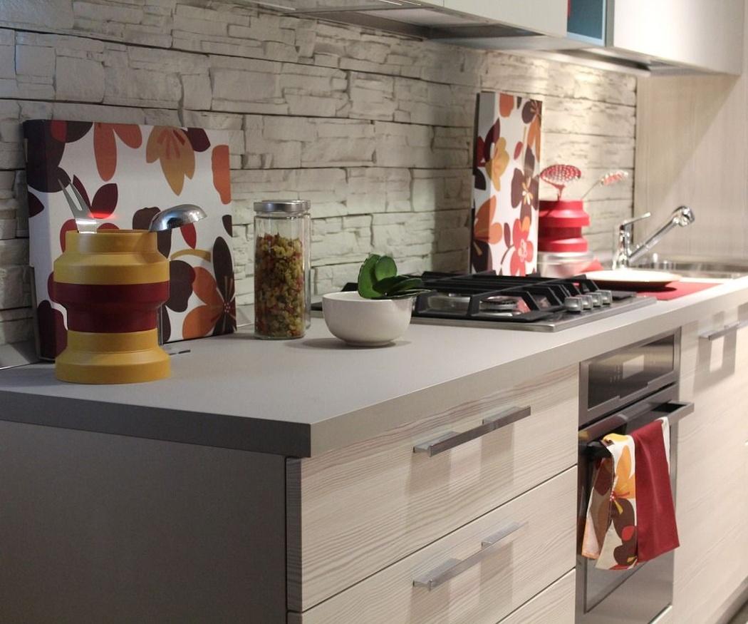 Cajones prácticos en la cocina