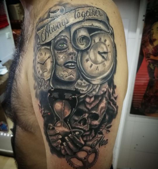 Diseños personalizados: Servicios de Tattoo Painkiller Studio