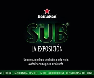 acción street marketing para Heineken