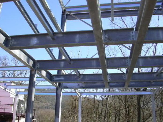 Estructuras galvanizadas: Servicios y Proyectos de Estructures Metal.Liques Quintana, S. A. U