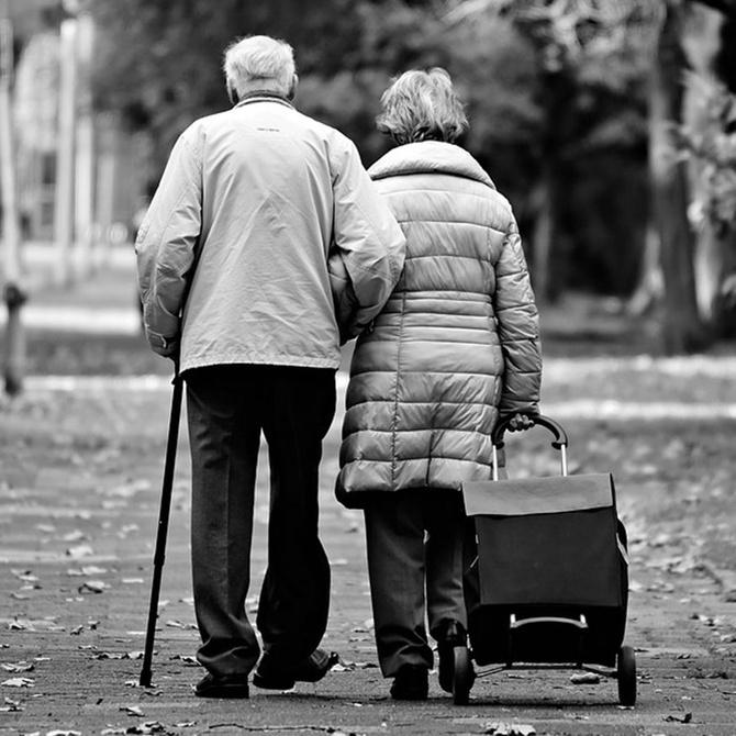 El problema de la salud mental para personas mayores