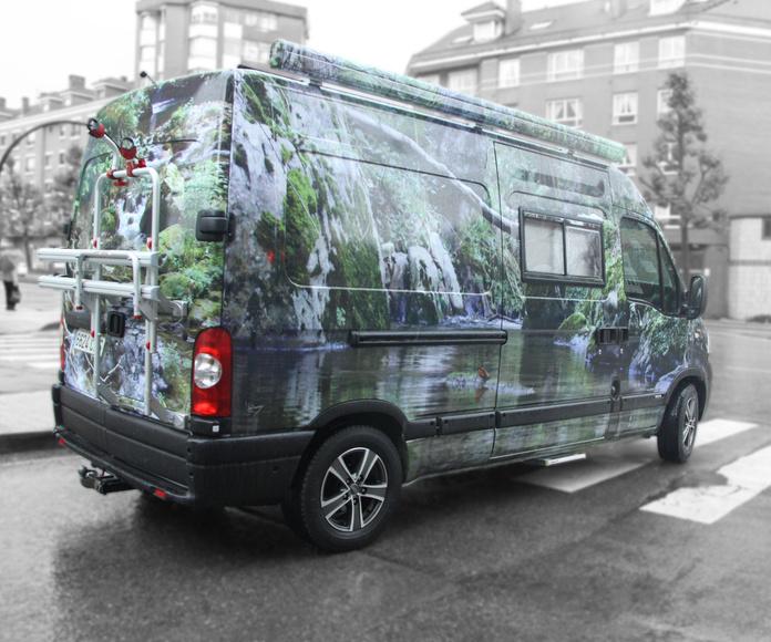 Rotulación Vehiculos: Servicios de Face Rotulación