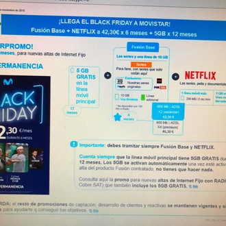 LLEGA EL BLACK FRIDAY A MOVISTAR