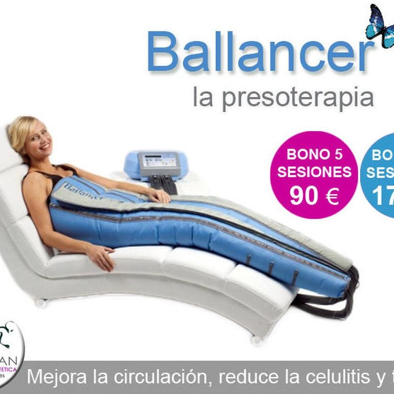 Presoterapia Ballancer, considerada entre las mejores del Mercado !!: Servicios de Quirosan