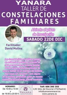 22 DE DICIEMBRE TALLER DE CONSTELACIONES FAMILIARES