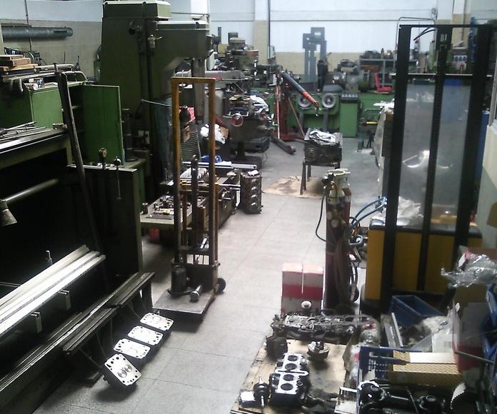 Suministros para mecanizado y rectificado de motores en San Andreu Barcelona