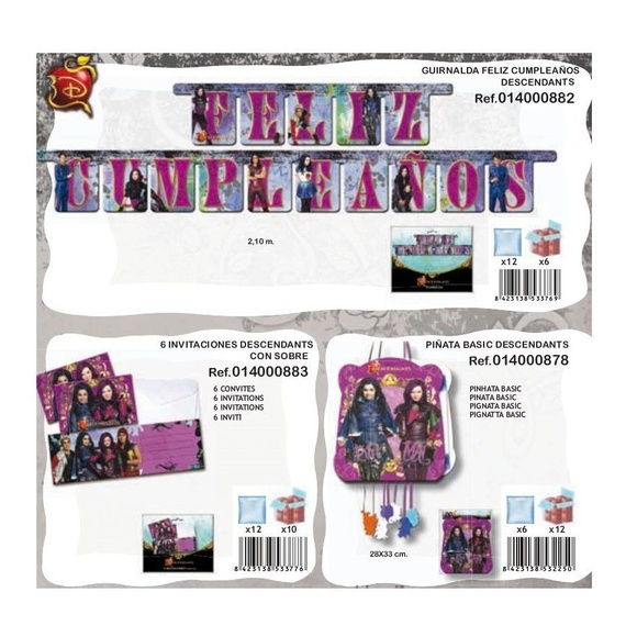 Descendants: Productos de Verbetena