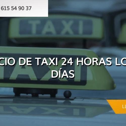 Taxis en Olesa de Montserrat   Taxi 24 H Rafael García
