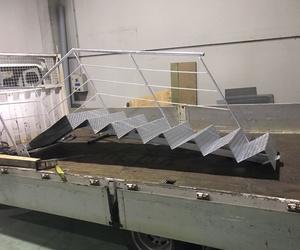 Fabricación de escaleras metálicas en Pradejón