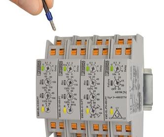 Relés de control compactos